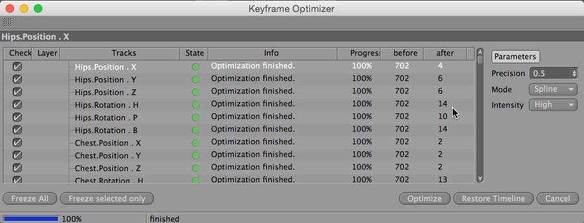 Key Optimizer